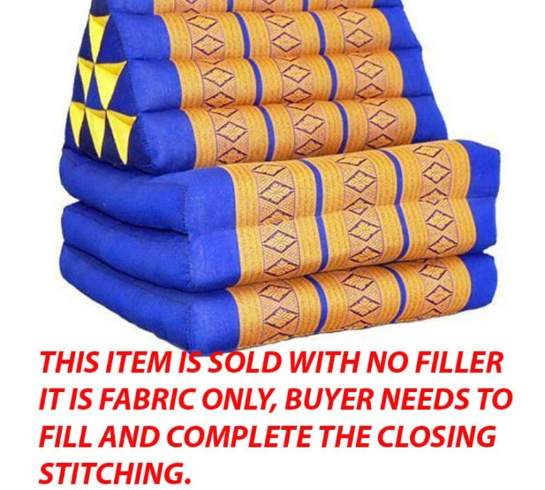Triangle Pillow with Three Pads NO FILL