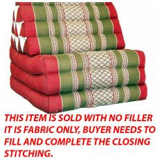 Triangle Pillow/Pad Red PG Wh S