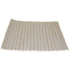 Brown and Cream Cotton Placemat