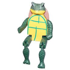 Wooden Turtle Puppet