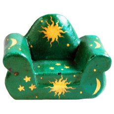 One Seater Chair Green