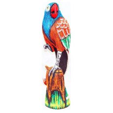 Wood Parrot on Stand