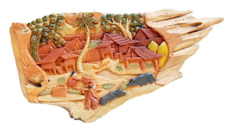 Relief Carvings and Other Wall Decor