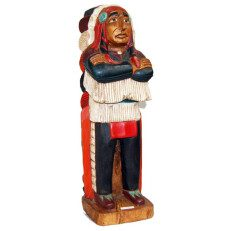 Hand-Carved Native American