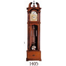 Grandfather Clock Chry Horn Top