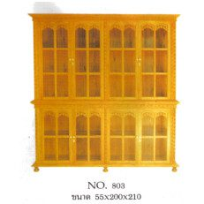 Solid Teak wood Curio