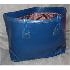PU Handbag Blue