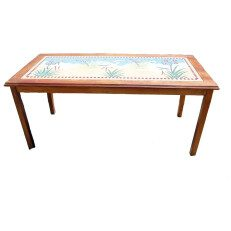 Rectangular Mosaic Table