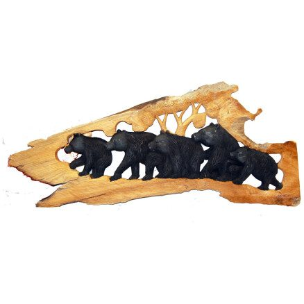 Bear Relief Carving L