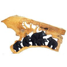 Bear Relief Carving R