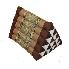 Triangle Pillow Brown Wheat