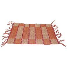 Red and Orange Cotton Placemat