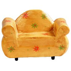 Two Seater Chair Yellow