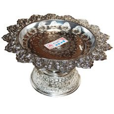 Silver Finish Serving Tray-14